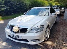 Mercedes S Class for weddings in Bath